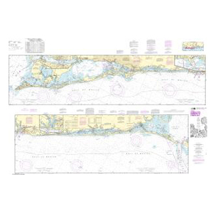 Noaa Nautical Chart 11425 Intracoastal Waterway Charlotte Harbor To Tampa Bay