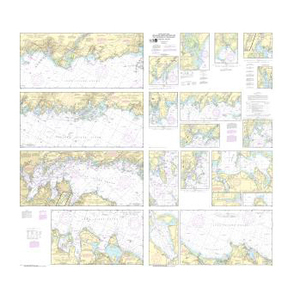 Noaa Nautical Chart 12364 Long Island Sound New Haven Harbor Entrance And Port Jefferson To Throgs Neck