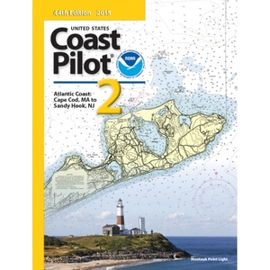 Chart Coast Pilot 2 Atlantic Coast: Cape Cod, MA , NJ
