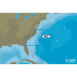 NA-D942 Norfolk to Jacksonville C-MAP 4D Chart microSD/SD Card