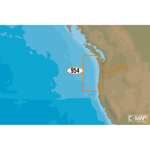 NA-D954 Cape Blanco to Cape Flattery C-MAP 4D Chart microSD/SD Card