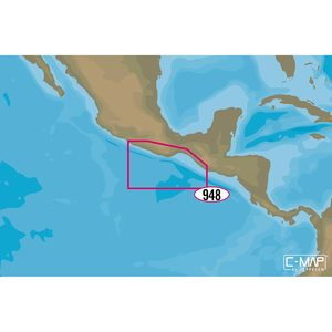 NA-M948 Champerico, Guatemala to Acapulco, Mexico C-MAP MAX Chart C-Card