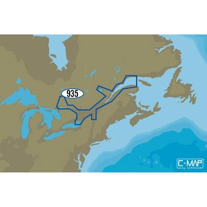 NA-Y935 St. Lawrence River C-MAP MAX-N+ Chart C-Card