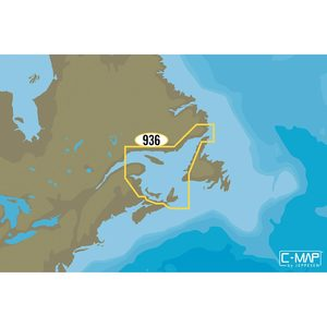 NA-Y936 Gulf of St. Lawrence Chart C-MAP MAX-N+ C-Card