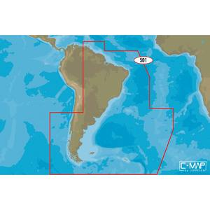 SA-M501 Gulf of Paria to Cape Horn C-MAP MAX Chart microSD/SD Card