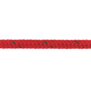 "3/8"" Trophy Braid, Red, Sold by the Foot"