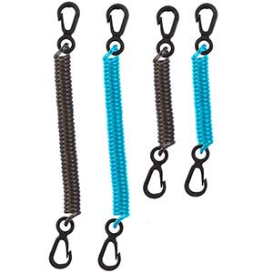 Dry Doc™ Coiled Tether, 4-Pack