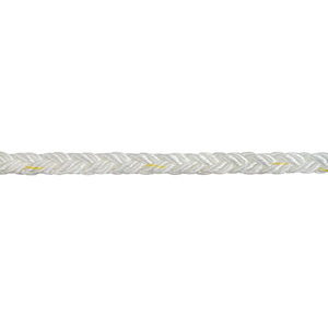 "1/2"" Dia. Nylon Brait - 8 Plait Construction Line, Sold by the Foot"