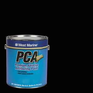 PCA Gold Ablative Antifouling Paint, Black, Gallon