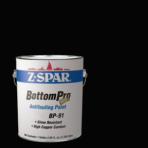 BottomPro Gold Antifouling Paint, Black, Gallon
