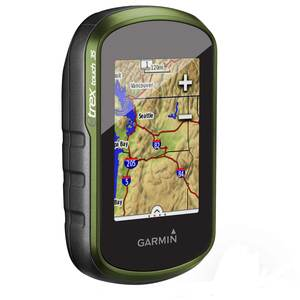 eTrex Touch 35 Handheld GPS with World Basemap