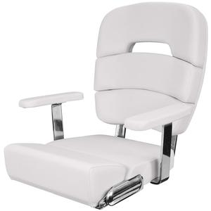 Coastal Helm Chair Deluxe, Cool Gray
