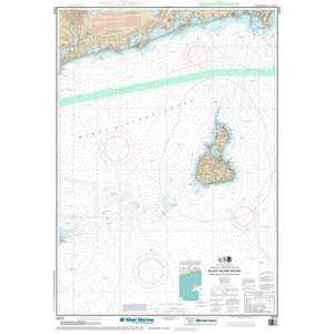 Maptech® NOAA Recreational Waterproof Chart-Block Island Sound Point Judith to Montauk Point, 13215
