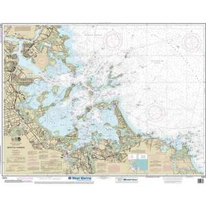 Maptech® NOAA Recreational Waterproof Chart-Boston Harbor, 13270