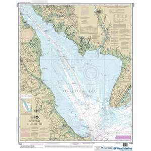 Maptech® NOAA Recreational Waterproof Chart-Delaware Bay, 12304