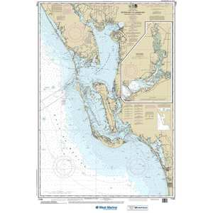 Maptech® Recreational Waterproof Chart - Estero Bay to Lemon Bay, Including Charlotte Harbor, Continuation of Peace River