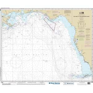 Maptech® NOAA Recreational Waterproof Chart-Gulf Coast Key West To The Missippi River, 11006