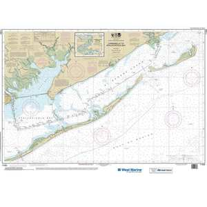 Maptech® NOAA Recreational Waterproof Chart-Intracoastal Waterway  Carrabelle to Apalachicola Bay; Carrabelle River, 11404