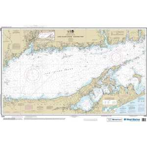 Maptech® NOAA Recreational Waterproof Chart-Long Island Sound Eastern Part, 12354