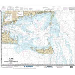 Maptech® NOAA Recreational Waterproof Chart-Nantucket Sound and Approaches, 13237
