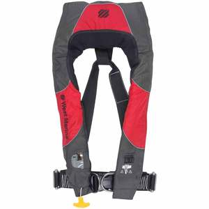 Offshore Automatic Inflatable Life Jacket with Harness