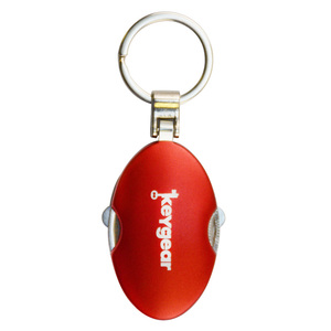 4-in-1 Multi-Tool Keychain, Red