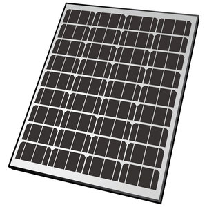 90W Rigid Monocrystalline Solar Panel