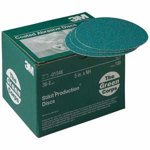 "Green Corps™ Stikit™ Production™ Disc, 5"", 36E"