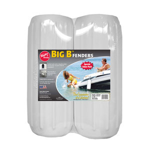 "8"" X 20"" Big B™ Fender 2-Pack, White"
