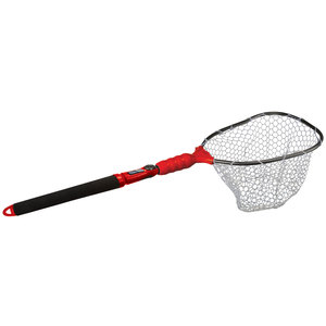 Adventure s2 slider compact clear rubber landing net for Rubber fishing nets