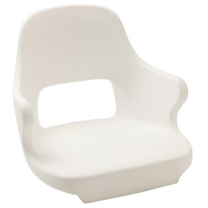 Yachtsman II Rotational Molded Seat with Mounting Plate