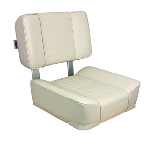 White Deluxe Upholstered Seat