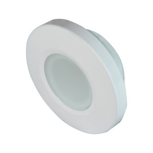 Orbit Flush Mount LED Down Light, White Housing, Spectrum RGBW