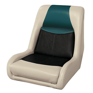 Blast-Off Bucket Seat, Mushroom/Black/Green