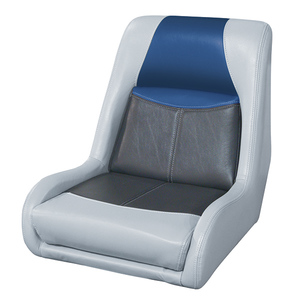 Blast-Off Bucket Seat, Gray/Charcoal/Navy