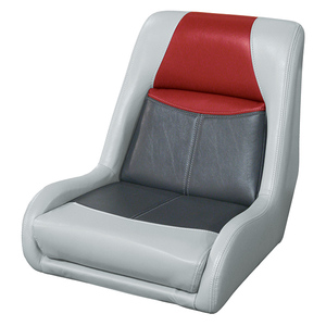 Blast-Off Bucket Seat, Gray/Charcoal/Red
