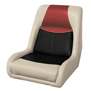 Blast-Off Bucket Seat, Mushroom/Black/Red