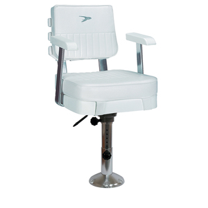 Ladder Back Helm Chair with WP21-374 Pedestal