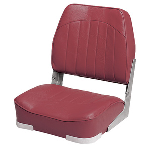 Low Back Boat Seat, Red