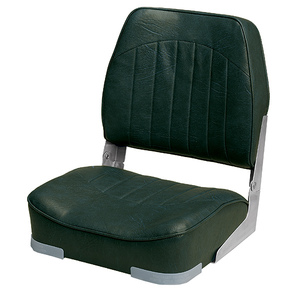 Low Back Boat Seat, Green