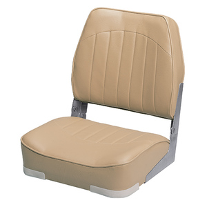 Low Back Boat Seat, Sand