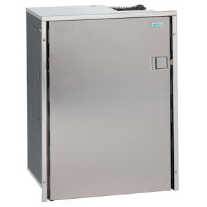 Cruise 130 Drink Stainless Steel - 4.6 cu.ft., AC/DC, Left Swing, 4-Sided Stainless Steel Flange, No Freezer Compartment