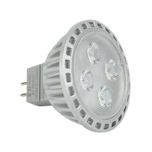LED Replacement Bulb Warm White 10 to 30V DC 5 Watts MR16 (GU5.3) Socket