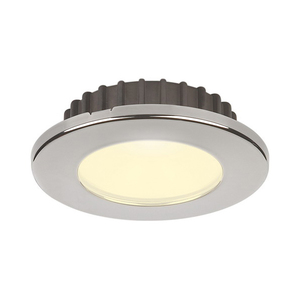 PowerLED Downlight 10 to 30V DC Stainless Steel Trim Ring IP65