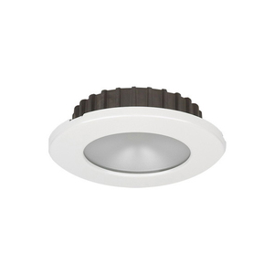 PowerLED Downlight 10 to 30V DC White Trim Ring Cool White IP65