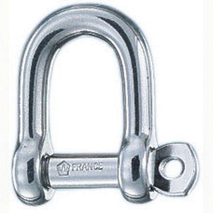 "9/16"" Self-Locking Standard D Shackle"