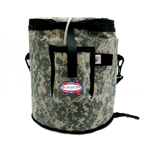 Insulated Bait Bucket with Strap