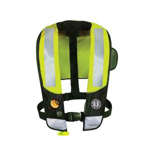 HIT™ High Visibility Inflatable Life Jacket (Auto Hydrostatic)