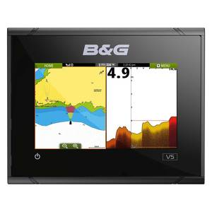 Vulcan 5 Chartplotter with Navionics Global Basemap