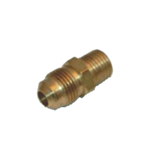 "Adapter, 3/8"" Male Flare to 1/4"" Male NPT"